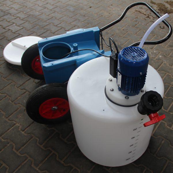 Motor ansicht von Easy Milch Mixer oder Milchtaxi